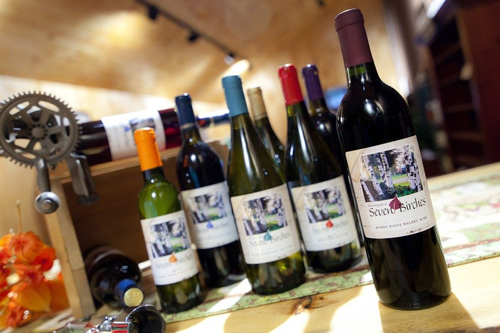 Seven Birches Wines at Windy Ridge Orchard