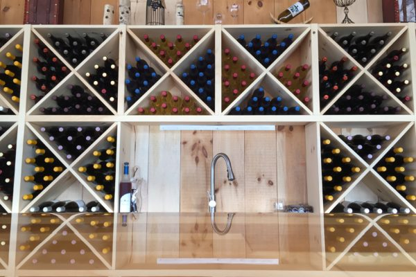 Plenty of Bottles at the Atrium Tasting Room