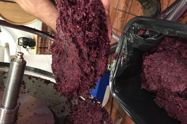 thick grape cake